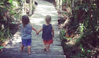 Chris Hemsworth Share Shot of Twin Sons on Australian Adventure