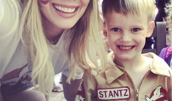 Hilary Duff Celebrates Luca's Birthday With a Ghostbusters Party