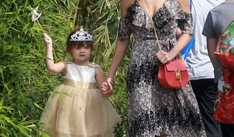 Jenna Dewan-Tatum & Everly Enjoy a Day at the Farmer's Market