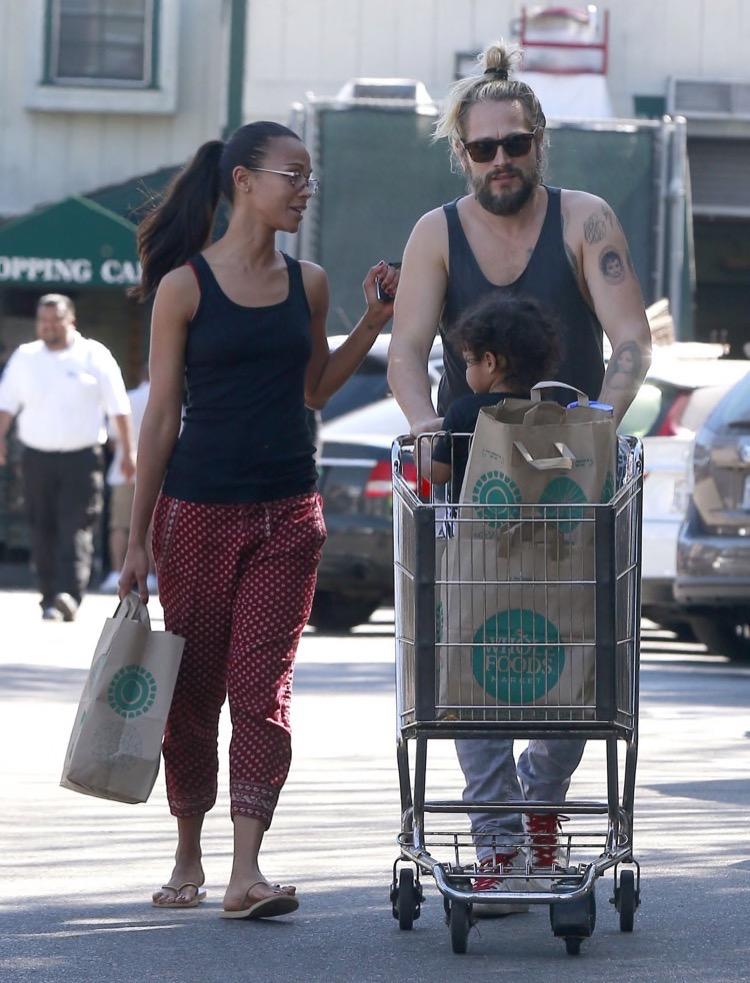 Zoe Saldana Family15 Celeb Baby Laundry