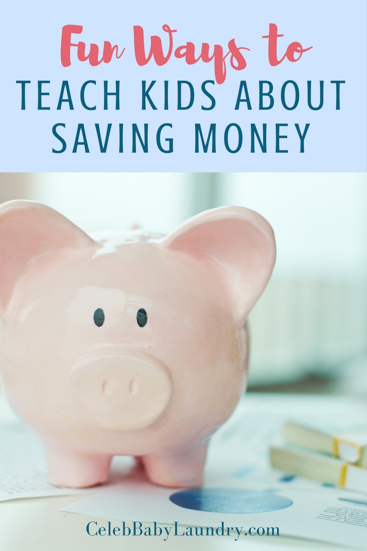 Fun Ways to Teach the Kids About Saving Money