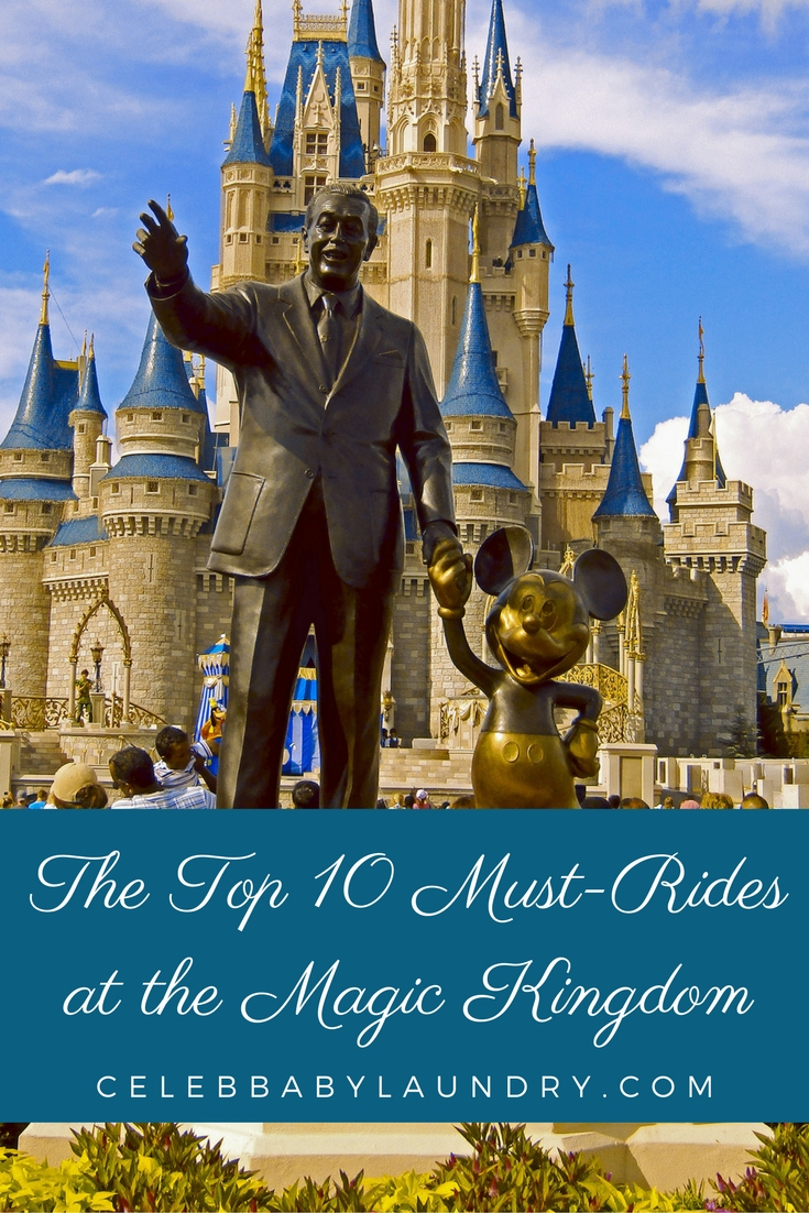 The Top 10 Must-Rides at the Magic Kingdom