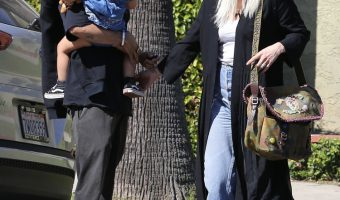 Ashlee Simpson & Evan Ross Enjoy a Family Day