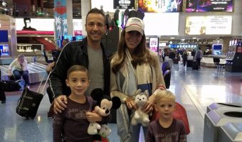 Howie Dorough's Las Vegas Family Portrait
