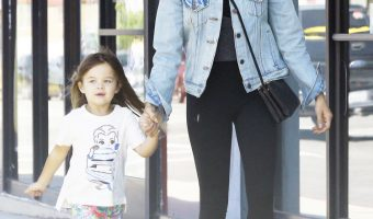 Jenna Dewan is all Smiles With Everly