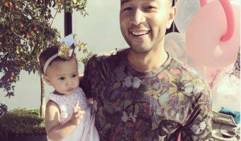 John Legend & Chrissy Teigen's Daughter Turns One