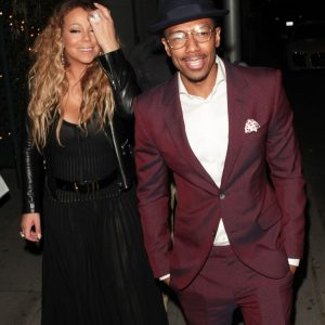 Mariah Carey and Nick Cannon Dine With their Twins