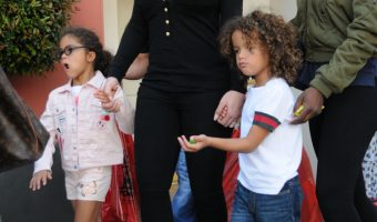 Mariah Carey Take Monroe and Moroccan Toy Shopping