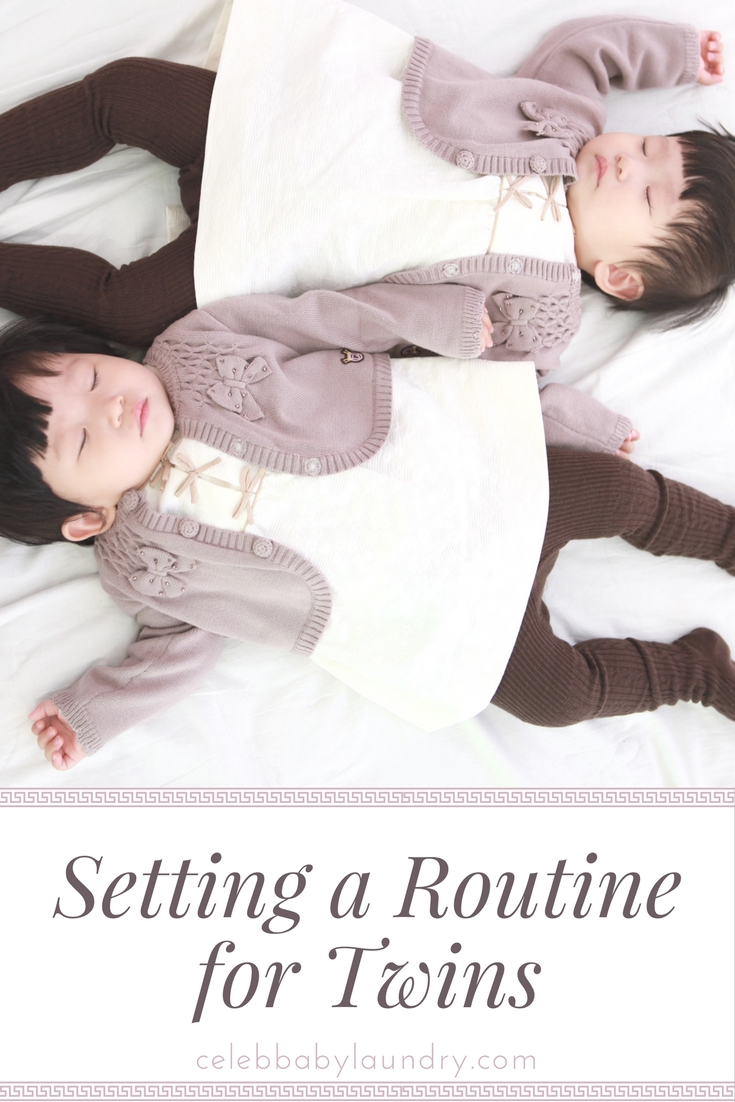 Setting a Routine for Twins