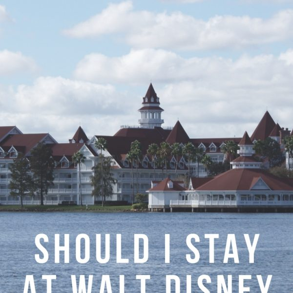 Should I Stay at Walt Disney Resorts?