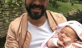 AJ Mclean Bonds With Daughter Lyric at Disney