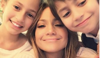 Jennifer Lopez Celebrates Mother's Day With Twins Max & Emme