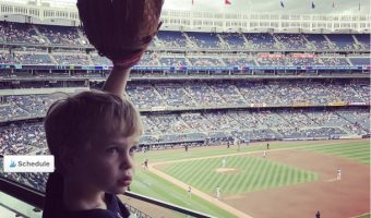 Neil Patrick Harris & Gideon Bond over Baseball