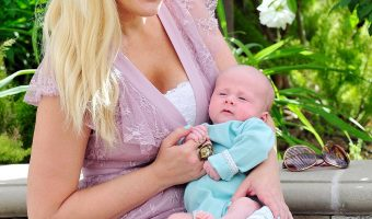 Tori Spelling Opens Up About Life Since Welcoming Baby Boy Beau