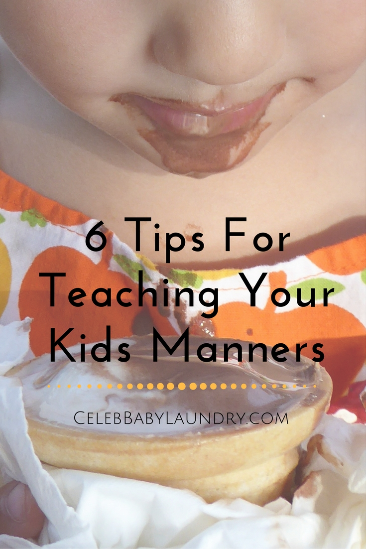 6 Tips For Teaching Your Kids Manners