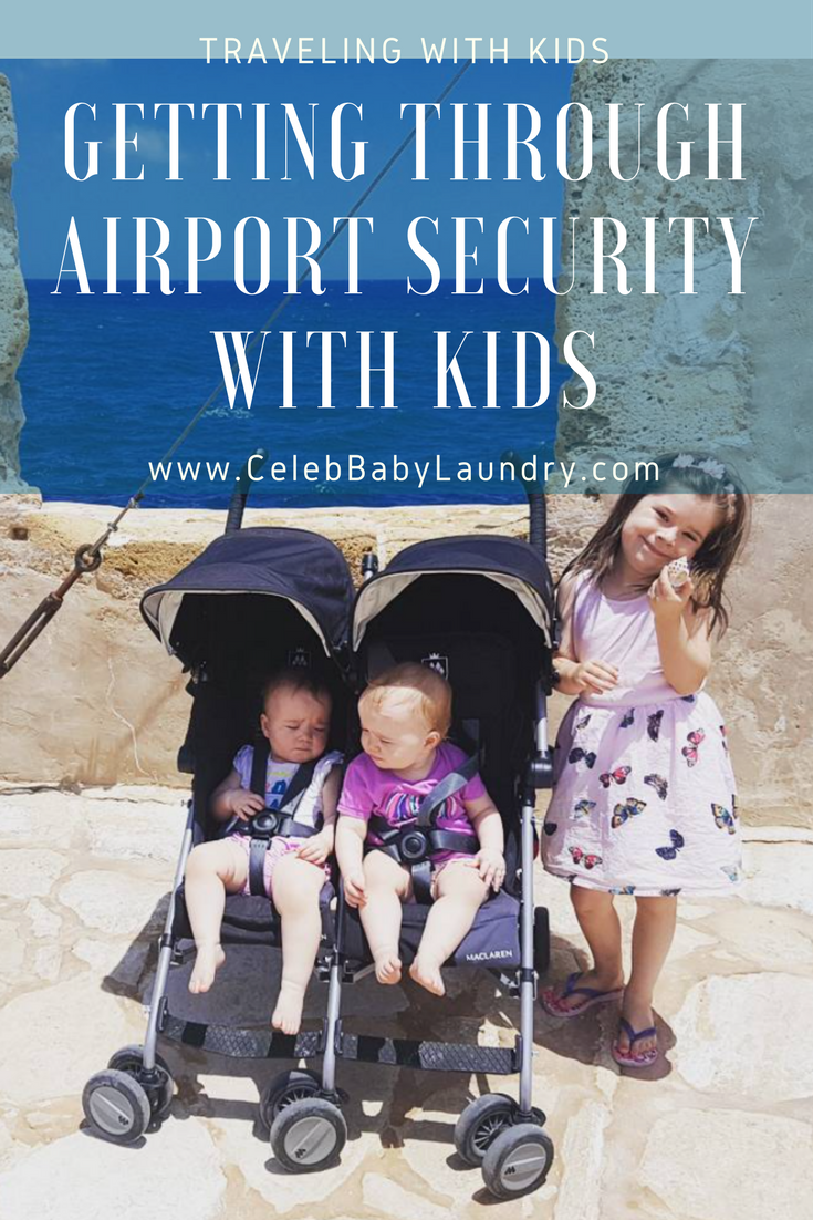Getting Through Airport Security with Kids