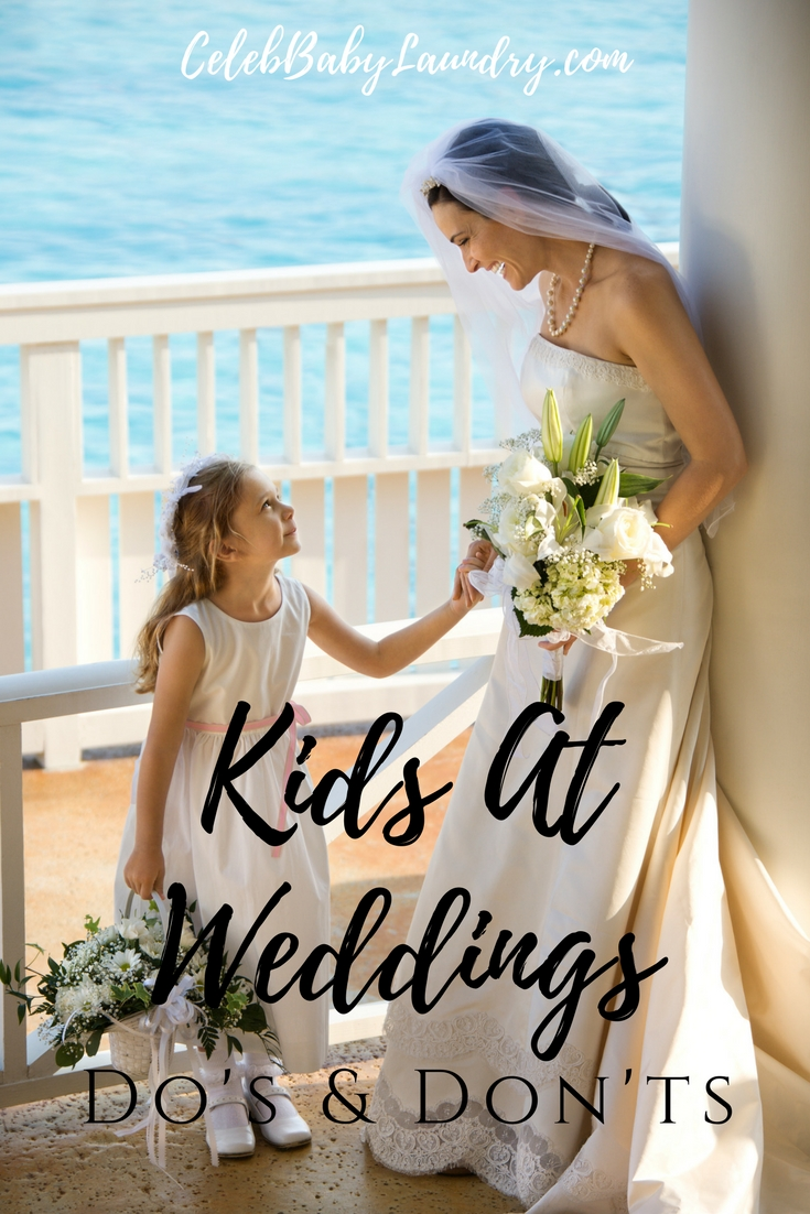 Kids At Weddings Dos & Don'ts