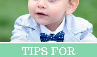 Tips for Taking Toddlers to Weddings