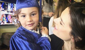 Alessandra Ambrosio's Son Noah Graduates Preschool