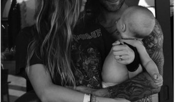 Behati Prinsloo Shares Sweet Family Portrait on Father's Day