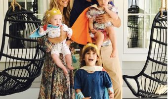 Molly Sims Celebrate Son Brooks' Birthday