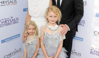 Rebecca Gayheart & Family Attend the 16th Annual Chrysalis Butterfly Ball