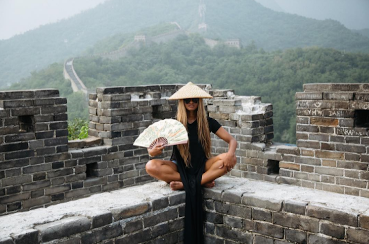 Ciara Takes Her 3-Month-Old Daughter Sienna Princess to China
