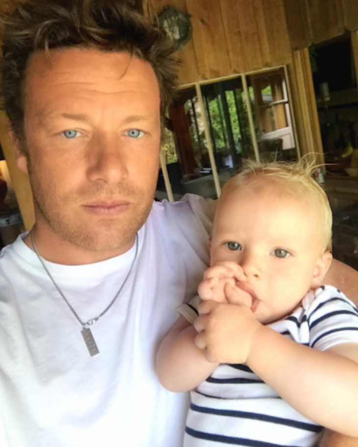 Jamie Oliver Shares a New Photo of His Son River Rocket