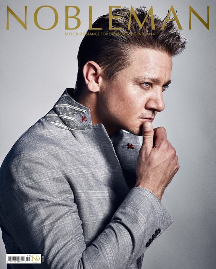 Jeremy Renner Opens Up About Raising Daughter Ava | Celeb ...