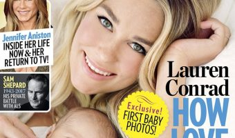 Lauren Conrad Introduces Her Son Liam James