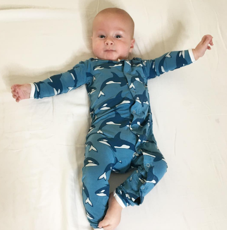 Tori Spelling Shares a New Photo of Her 'Shark Boy'
