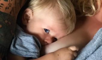 Alanis Morissette Shares New Breastfeeding Selfie