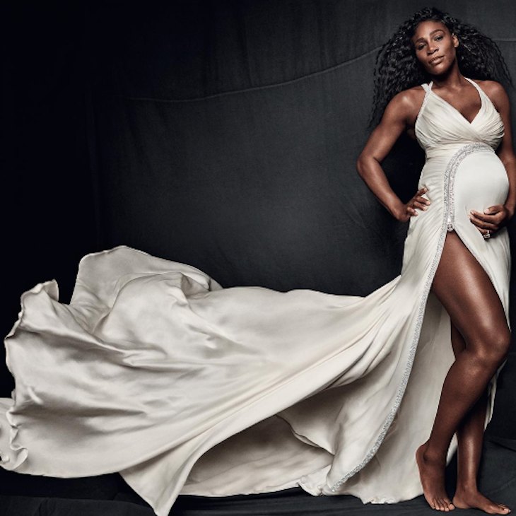 Serena Williams Admits to Being Terrified of Delivery