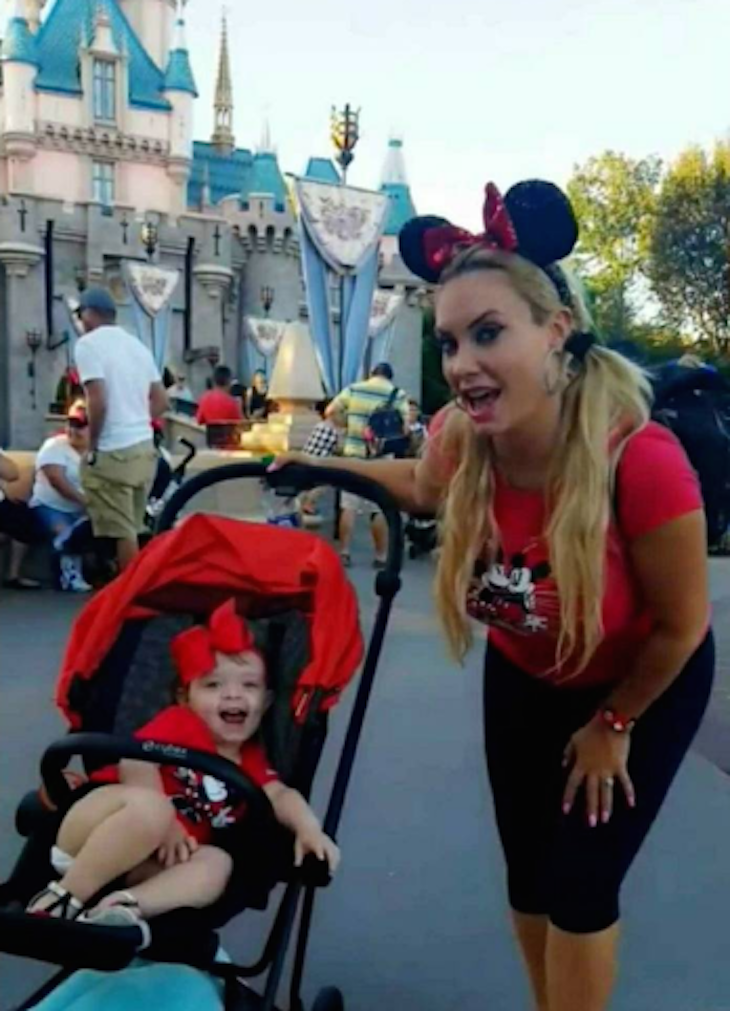 Coco Austin Takes Daughter Chanel to Disneyland