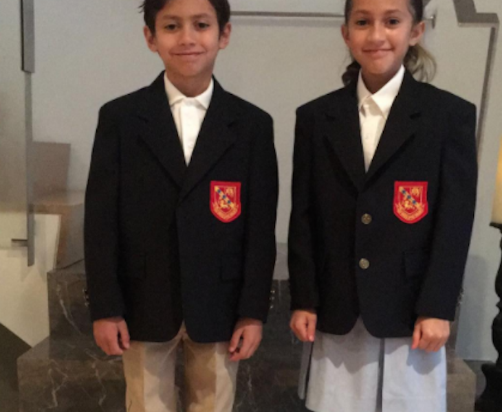 Jennifer Lopez's Twins Start First Day of 4th Grade