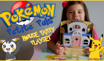 Ava's Toy Box Reviews: Pokemon Tomy Petite Pals House Party