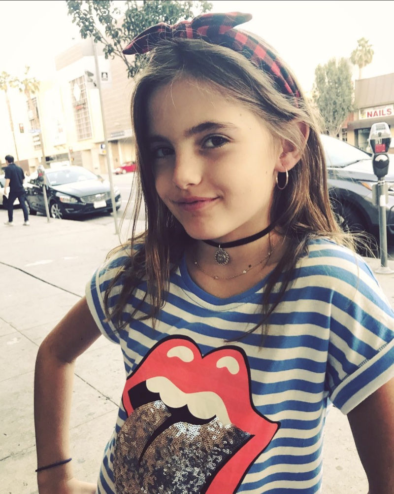 Alessandra Ambrosio's Daughter Anja is 90's Chic | Celeb ...