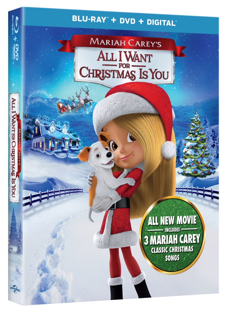 Mariah Carey\'s All I Want for Christmas is You #AllIWantMovie ...