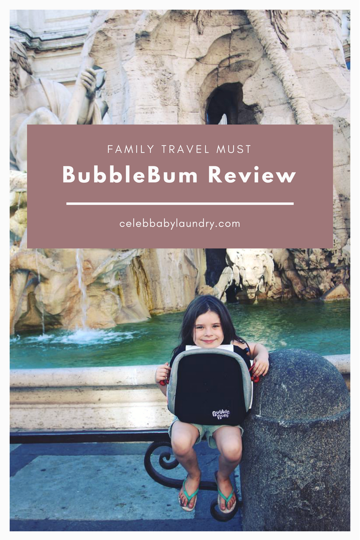 A Family Travel Must is the BubbleBum Booster