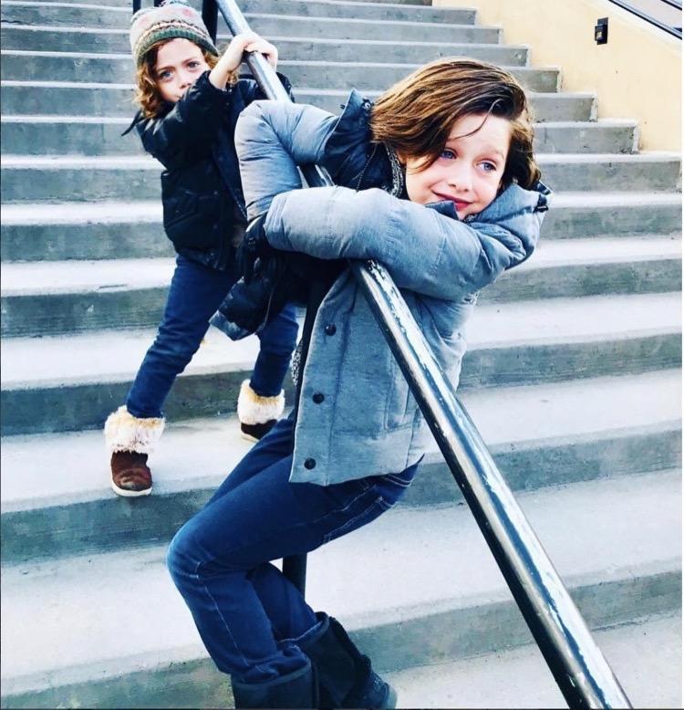 Rachel Zoe Genius Décor Ideas From Instagram: Rachel Zoe Hangs With Her Boys In Aspen