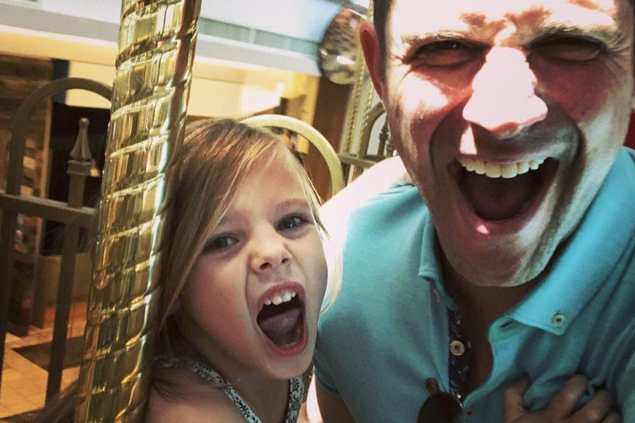 Brandon Barash & Harper's Father-Daughter Funday