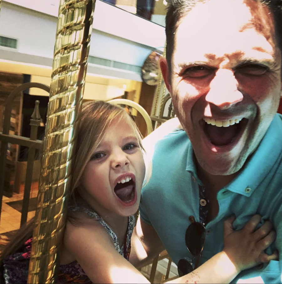 Brandon Barash & Harper's Father-Daughter Funday