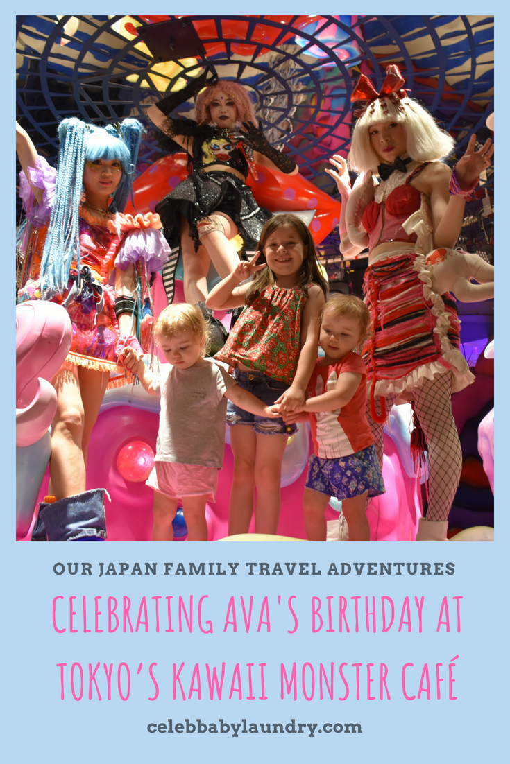 Our Japan Family Travel Adventure: Celebrating Ava's Birthday at Tokyo's Kawaii Monster Café
