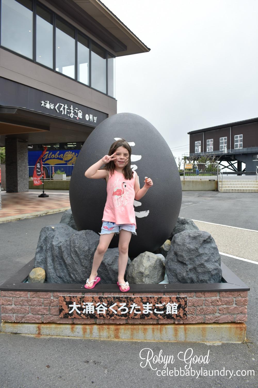 Visiting the Sulfur Eggs in Hakone, Japan #FamilyTravel