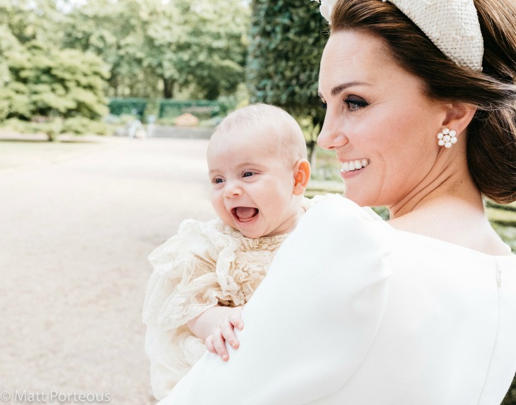 Kate Middleton Releases Prince Louis Christening Photos