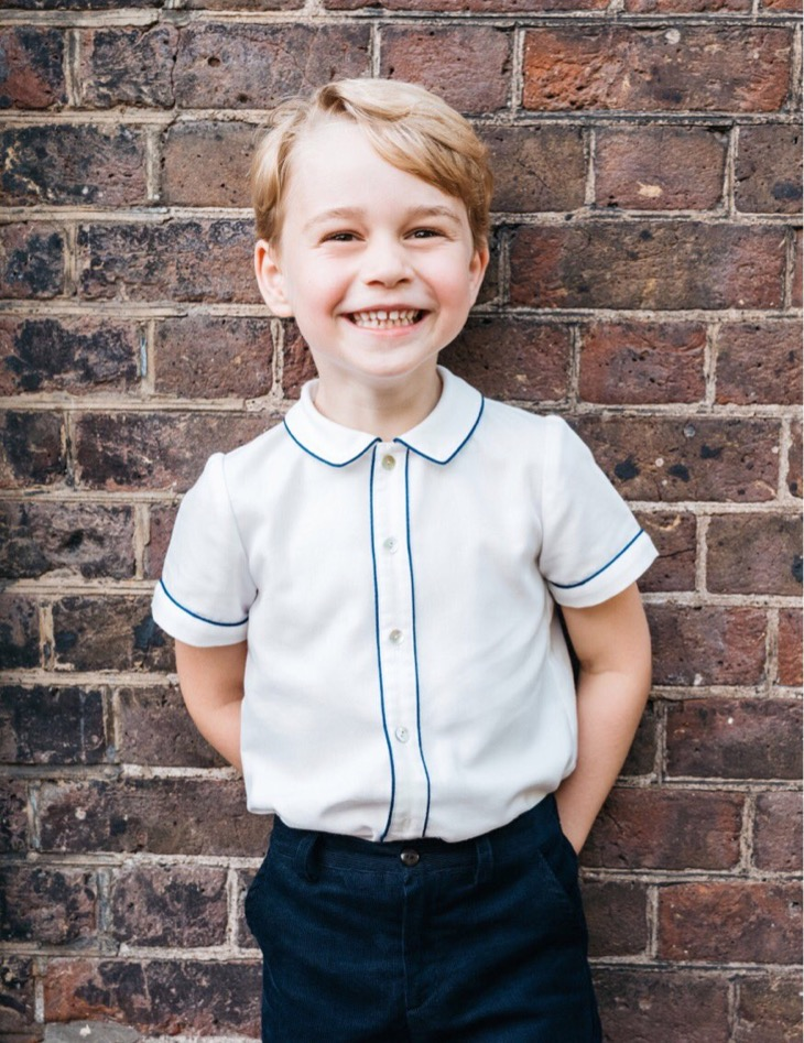Prince George Is All Smiles For His Birthday!