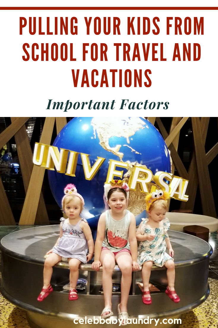 Pulling Your Kids from School for Travel and Vacations - Important Factors