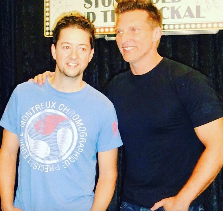General Hospital Actors Steve Burton and Bradford Anderson Continue Comedy Tour