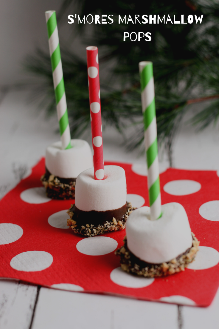 S'mores Marshmallow Pops for the Holiday Season